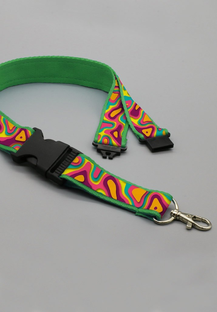LANYARDS PREMIUM DOBLE CLIP + SAFETY