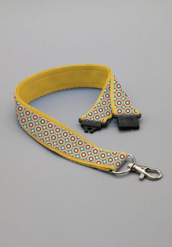 Lanyard premium safety con clip de seguridad