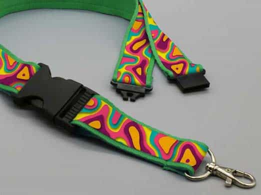 Lanyards premium con doble clip safety