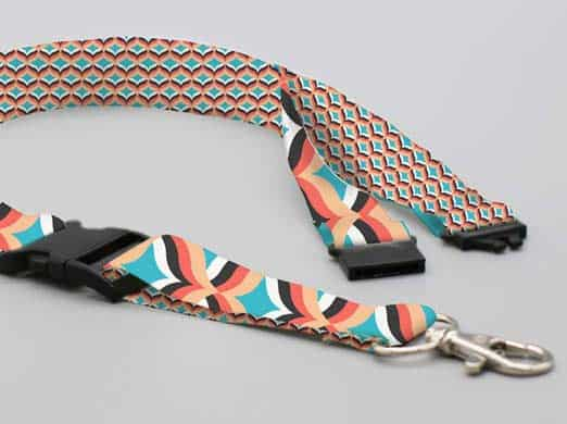 Lanyards classic doble clip y safety