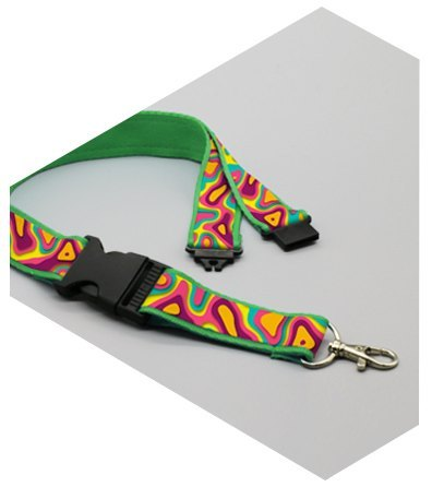 Lanyards personalizados con doble clip plus